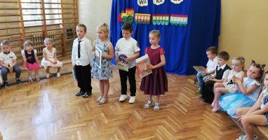 Zakończenie roku przedszkolnego w Mirosławiu
