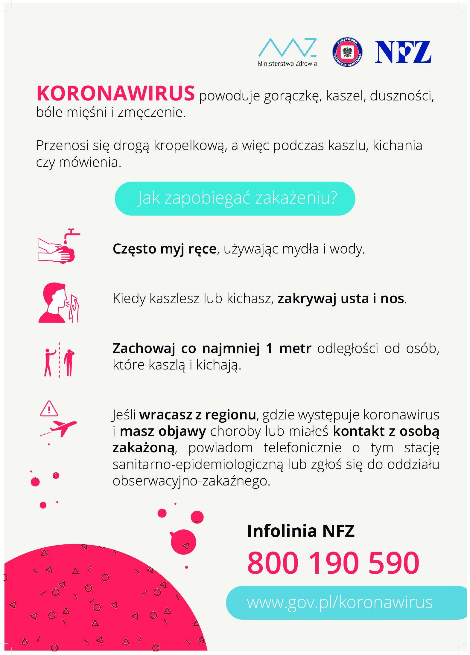 Inne materiały dotyczące koronawirusa