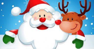 Życzenia od Świętego Mikołaja dla uczniów !