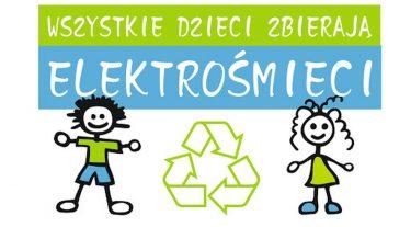 Zbiórka elektrośmieci w szkole