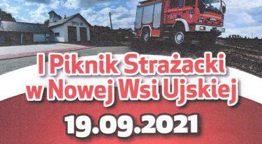 OSP Nowa Wieś Ujska zaprasza na piknik! – 19.09.2021-