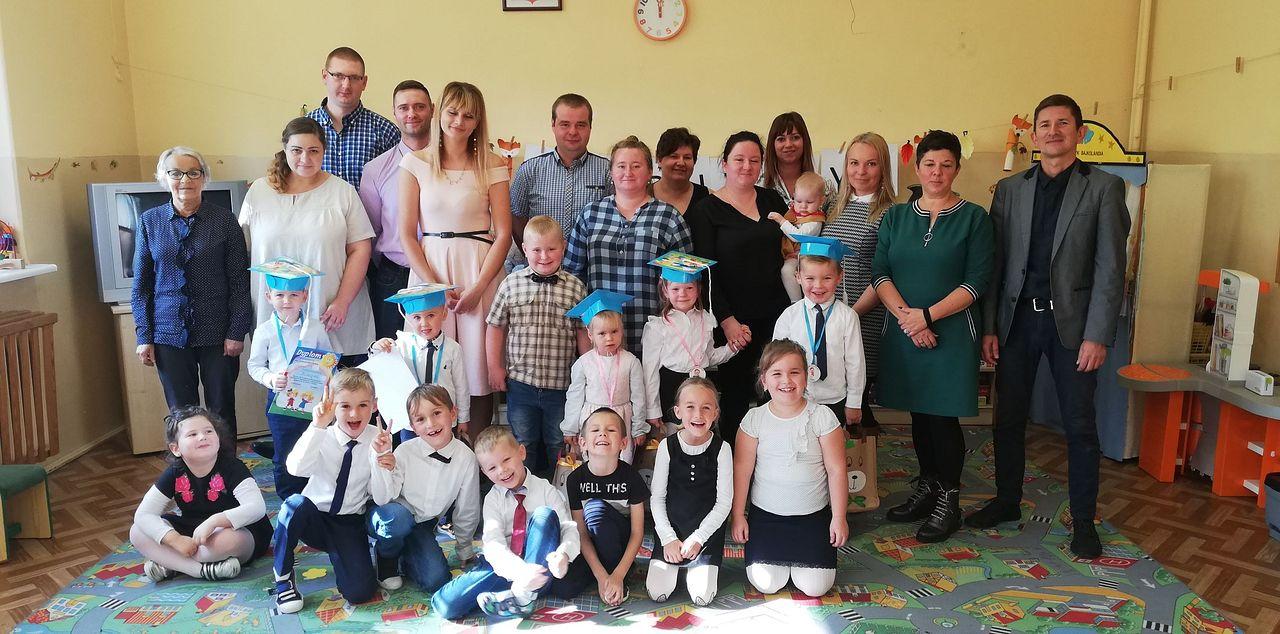 Pasowanie na przedszkolaka w Nowej Wsi i Mirosławiu