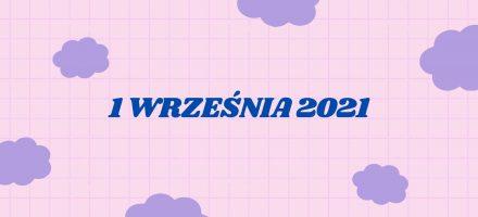 Rozpoczęcie roku szkolnego 2021/2022
